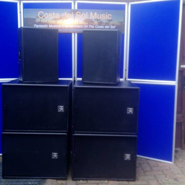 Disco System Hire
